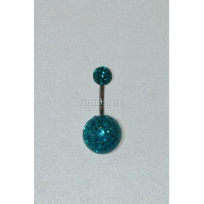 Piercing do pupka 0033S 12mm