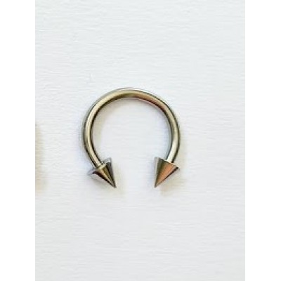 Piercing do bradavky,nosa,pery,ucha,podkovička 6mm-0006