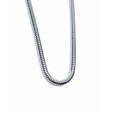 Strieborná retiazka s hadím dizajnom 0005